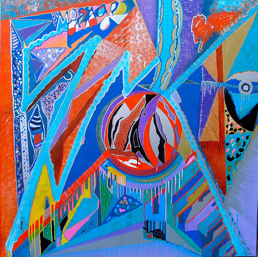 Earthquake Diptych  I - Dimension Fantasmic