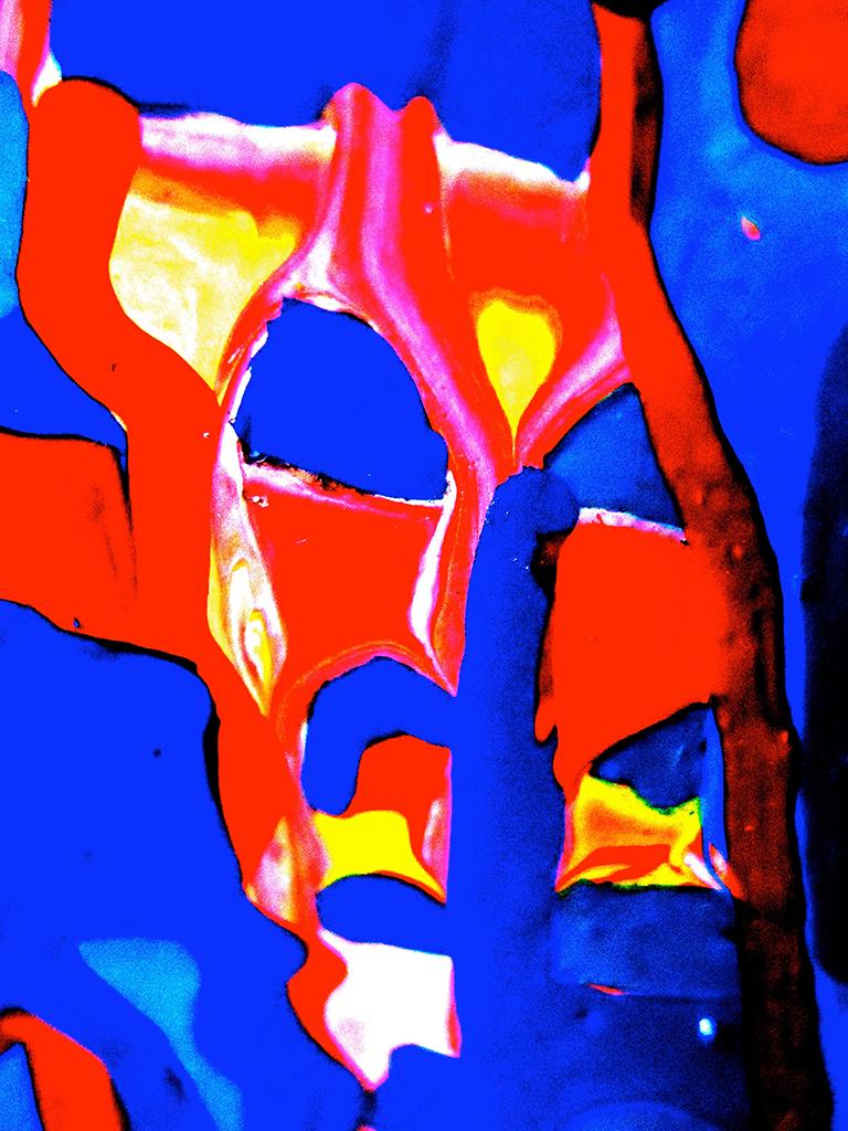 Mask IV - Photography without editing - Dimension Fantasmic