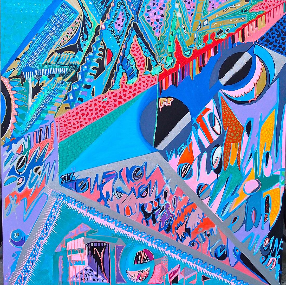Earthquake Diptych  II - Dimension Fantasmic