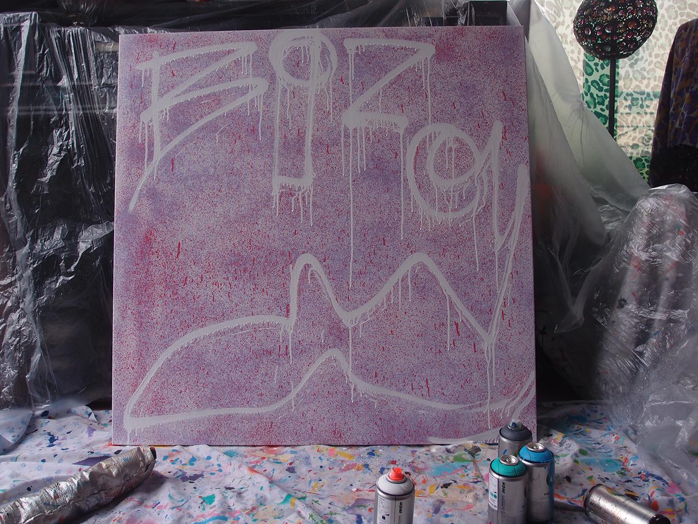 Bizou début de la toile - Dimension Fantasmic