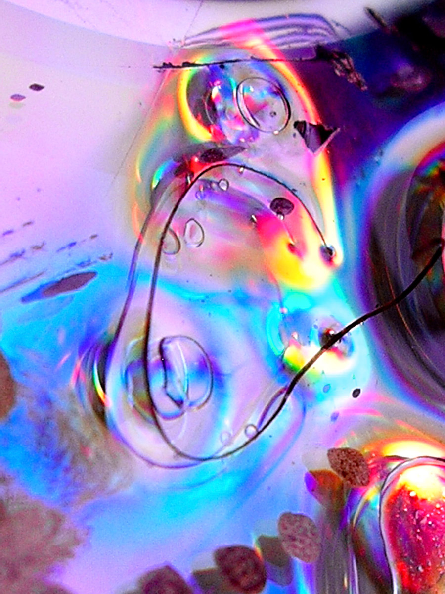 Rainbow in outer space IV