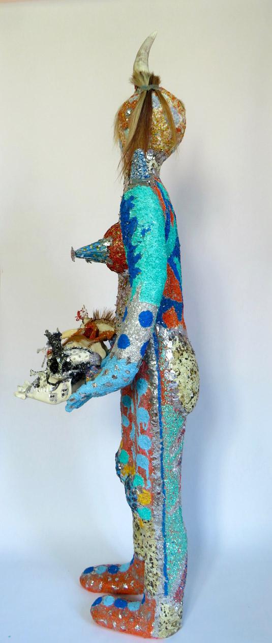 Tatika 1m 57cm high sculpture - Dimension Fantasmic